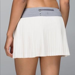 Lululemon Pleat to Street Skort Skirt 10
